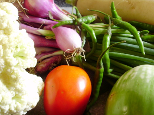 mix of vegetables