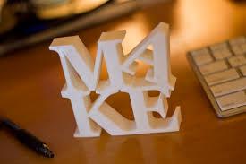 Letters M.A.K.E.