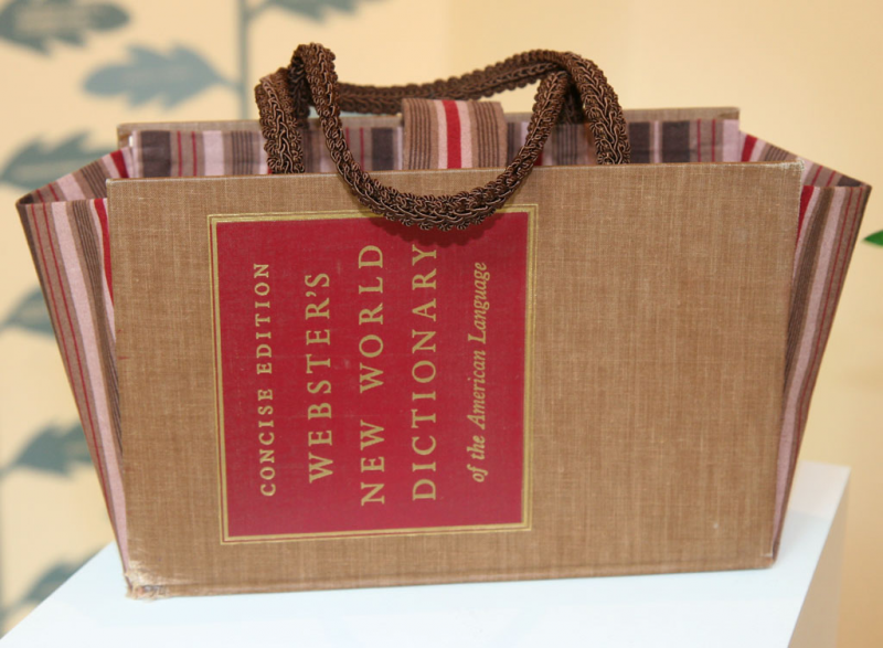 purse made from a book